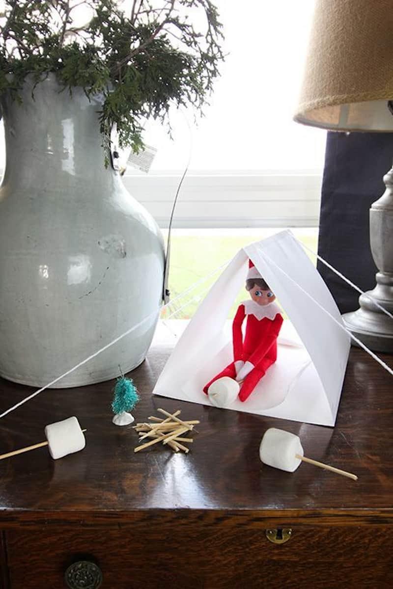Elf camping