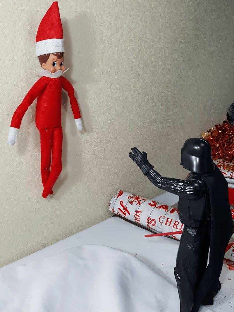 Elf and Darth Vader