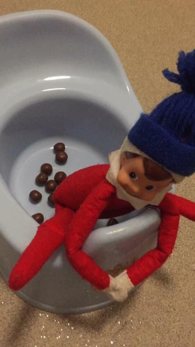 Elf potty training