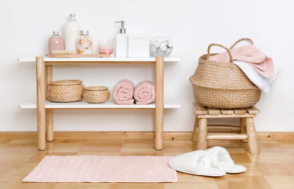 bathroom stool bathroom organization ideas