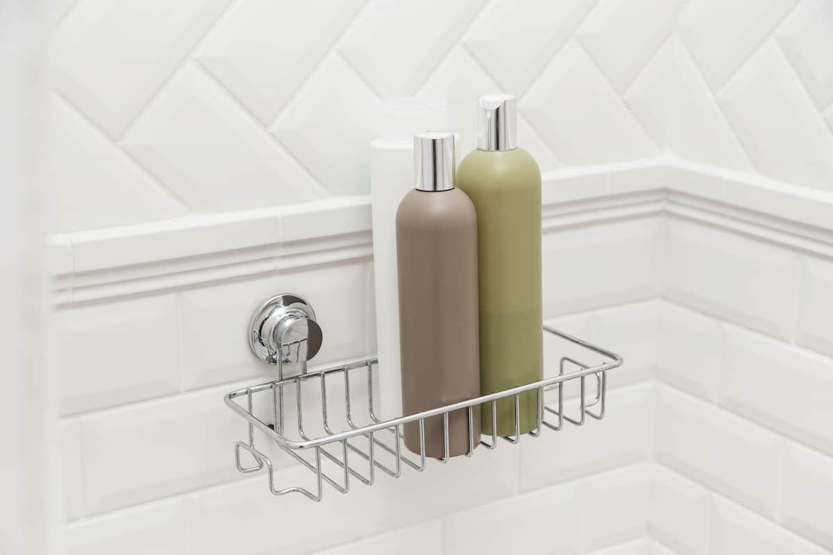 suction wire holder bathroom organization ideas