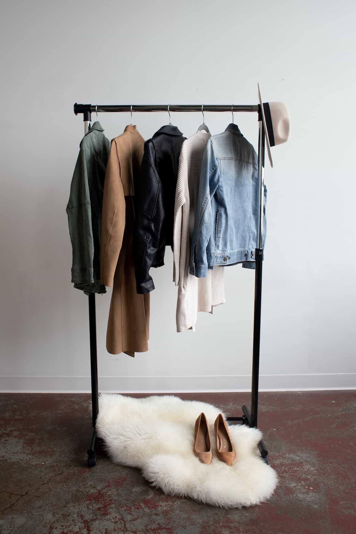 portable wardrobe