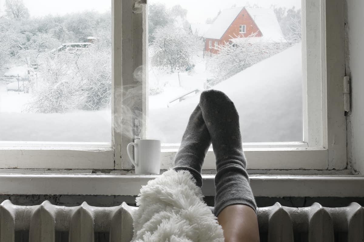 enclosed winter balcony