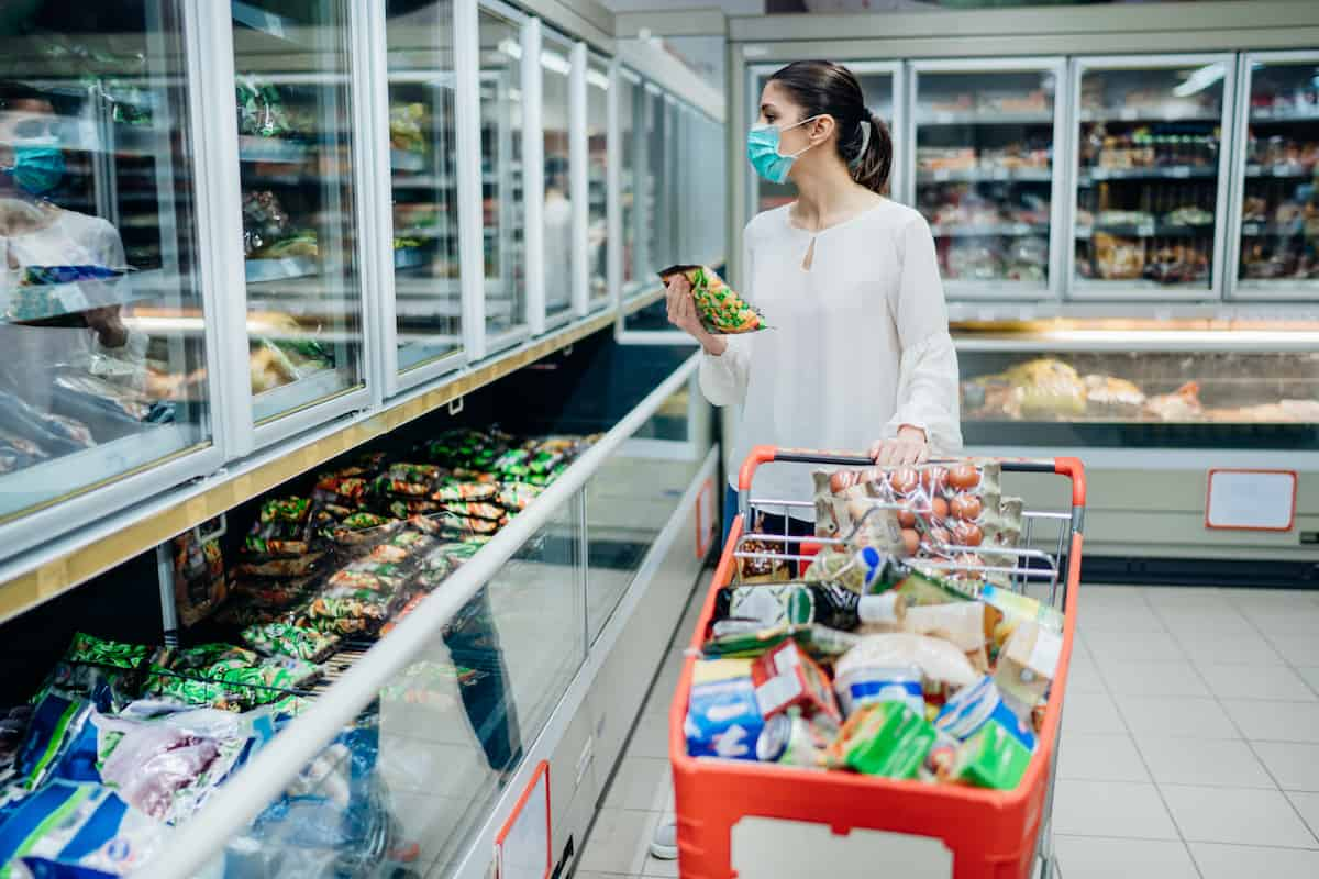 grocery store during pandemic