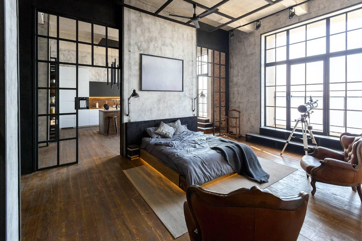 loft apartment rooms