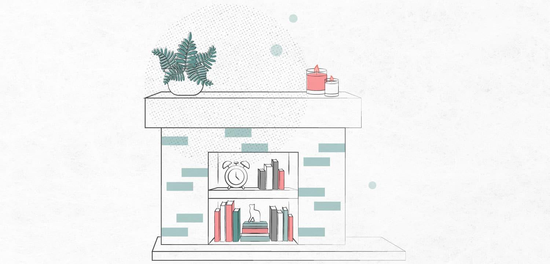 novel fireplace