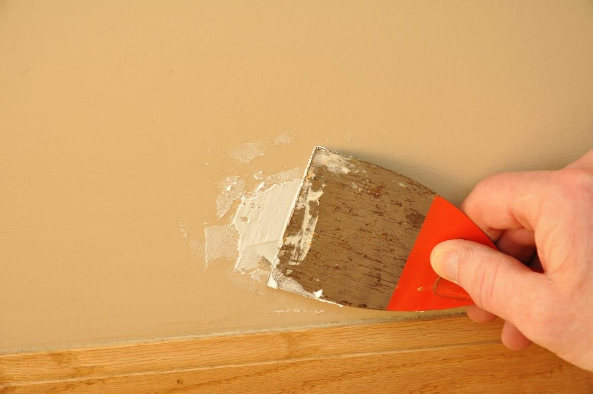 drywall holes