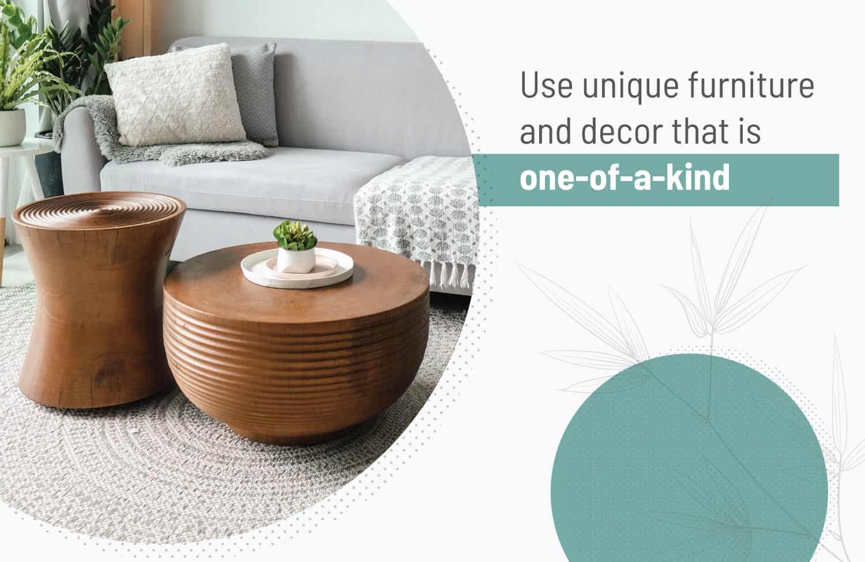 unique wabi sabi furniture