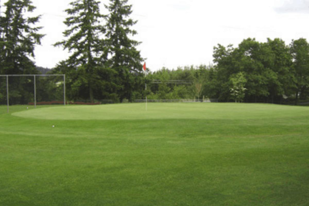 Lake Oswego Golf Course in Portland, OR.