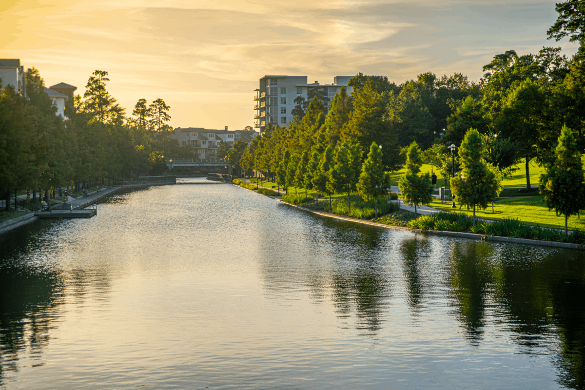 The Woodlands, TX.