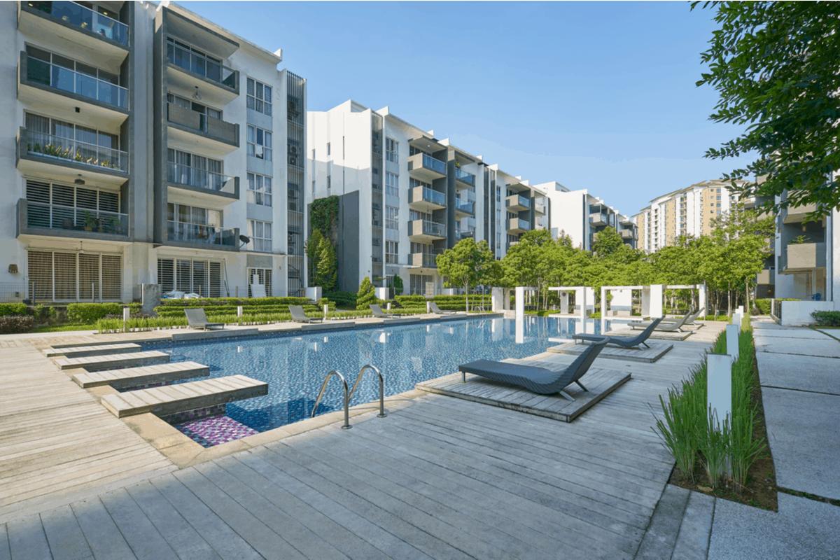 apartment community recreational area