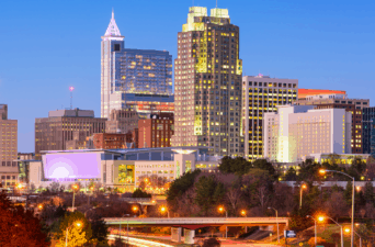 average rent in Raleigh